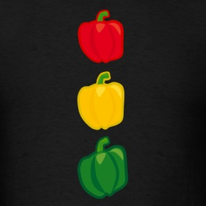 Pepper Stoplight T-Shirts - Men's T-Shirt