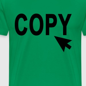 copy_pointer_ - Men's Premium T-Shirt