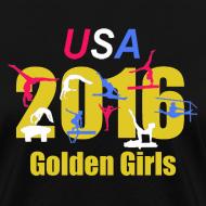Design ~ 2016 Golden Girls - women's t-shirt- black