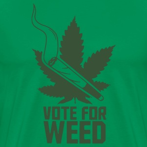 Vote For Weed - Men's Premium T-Shirt