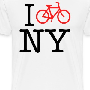 I Bike New York - Men's Premium T-Shirt