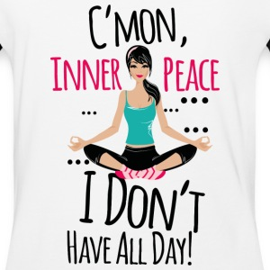 Yoga girl - Baseball T-Shirt