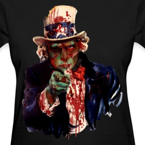 uncle sam - Women's T-Shirt