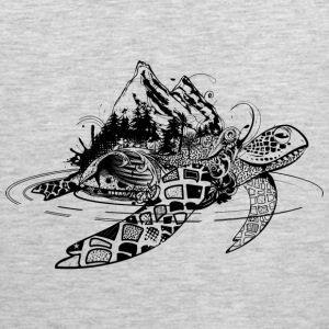 Surreal sea turtle Sportswear - Men's Premium Tank