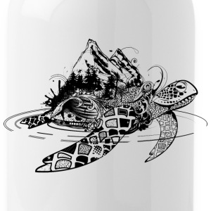 Surreal sea turtle Sportswear - Water Bottle