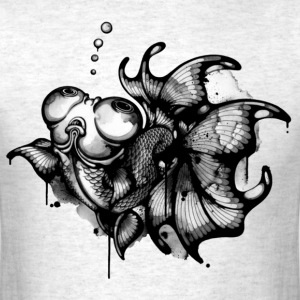 tattoo woman - Men's T-Shirt