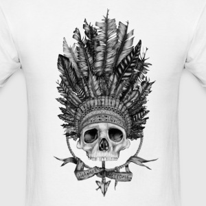 indian skull - Men's T-Shirt
