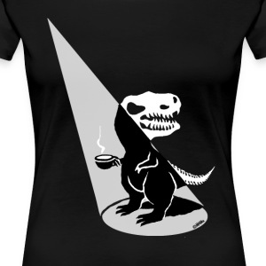 Tea Rex show time - Women's Premium T-Shirt