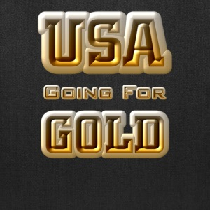 USA Going For GOLD Tote Bag - Tote Bag