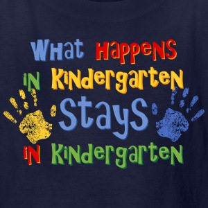 Stays In Kindergarten Kids' Shirts - Kids' T-Shirt