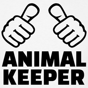 Animal keeper T-Shirts - Men's T-Shirt