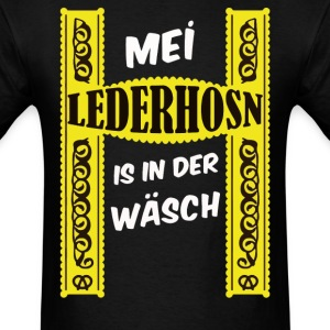 German Costume My Lederhose in the Wash T-Shirt Ok - Men's T-Shirt