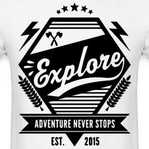 EXPLORE ADVENTURE - Men's T-Shirt
