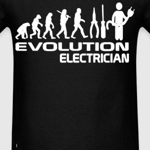 Evolution Electrician - Men's T-Shirt
