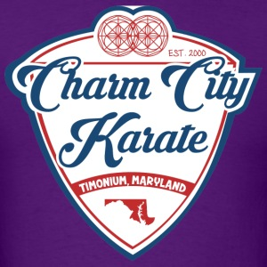 Charm City Karate Baseball tee - Men's T-Shirt