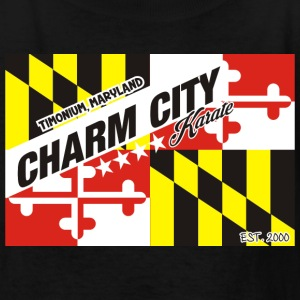 Charm City Karate Maryland Flag tee - Kids' T-Shirt