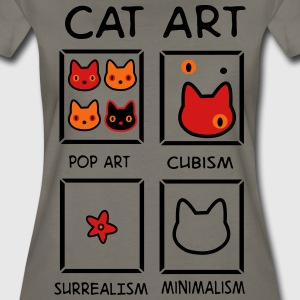 cat art T-Shirts - Women's Premium T-Shirt