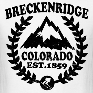 BRECKENRIDGE NATIONAL PARK COLORADO - Men's T-Shirt