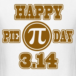 HAPPY PIE DAY - Men's T-Shirt