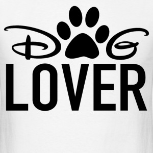 lover,pets,animal,dog - Men's T-Shirt