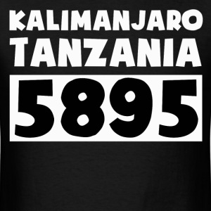 tanzania,NATIONAL PARK,KALIMANJARO,5895 - Men's T-Shirt