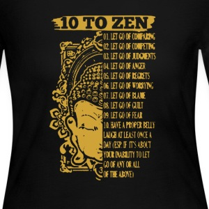 10 To Zen Shirt - Women's Long Sleeve Jersey T-Shirt