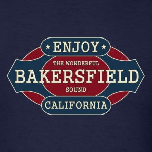 enjoy bakersfield - Men's T-Shirt