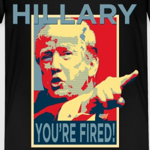 Hillary You're Fired Kids' Shirts - Kids' Premium T-Shirt