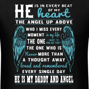 He Is My Daddy And Angel - Men's T-Shirt