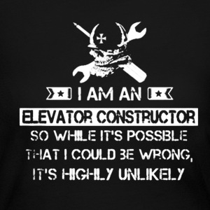 I Am An Elevator Contruct - Women's Long Sleeve Jersey T-Shirt