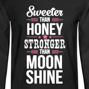Stronger Than Moonshine - Men's Long Sleeve T-Shirt