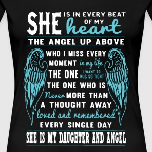 My Daughter And Angel - Women's Premium T-Shirt
