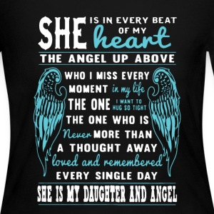 My Daughter And Angel - Women's Long Sleeve Jersey T-Shirt