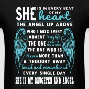 My Daughter And Angel - Men's T-Shirt