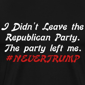 The Party Left Me - Men's Premium T-Shirt