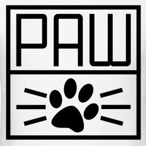 PAW1.png T-Shirts - Men's T-Shirt