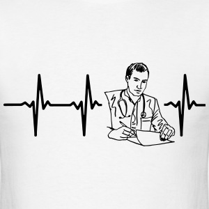 MY HEART BEATS FOR A DOCTOR! T-Shirts - Men's T-Shirt