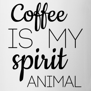 Coffee Is My Spirit Animal Mug - Coffee/Tea Mug