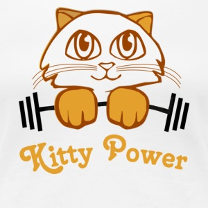 Kitty Power - Women's Premium T-Shirt