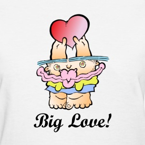 SillyMonster Big Love T-shirt  - Women's T-Shirt
