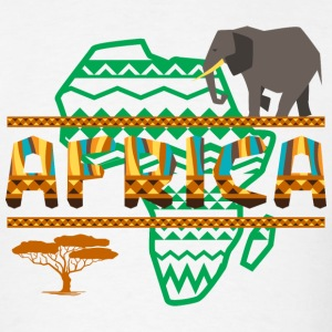 Africa Safari Elephant T-Shirt - Men's T-Shirt