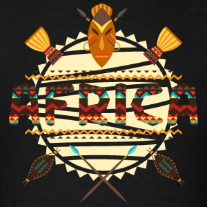 Africa Traditional  Masks T-Shirts - Men's T-Shirt