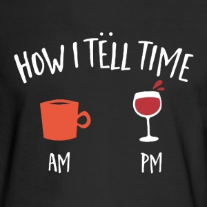 Coffee and Wine Shirt - Men's Long Sleeve T-Shirt