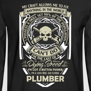 Plumber Shirt - Men's Long Sleeve T-Shirt