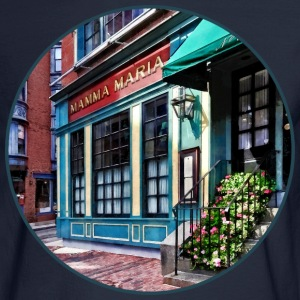Boston Ma - North End Restaurant Long Sleeve Shirts - Men's Long Sleeve T-Shirt