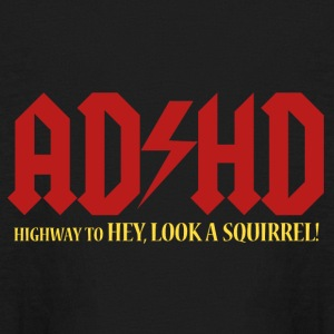 ADHD Highway to LOOK A SQUIRREL! Boys long sleeve  - Kids' Long Sleeve T-Shirt
