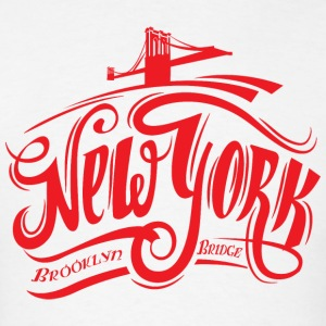 new York Brooklyn Bridge T-Shirt - Men's T-Shirt