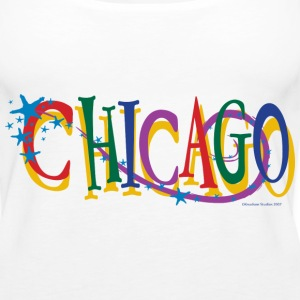 Chicago Stars and Stripe - Women's Premium Tank Top