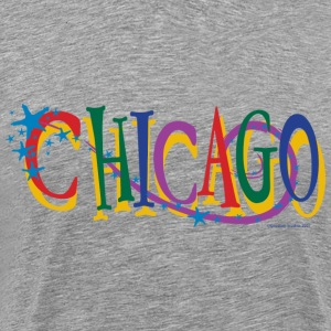 Chicago Stars and Stripe - Men's Premium T-Shirt