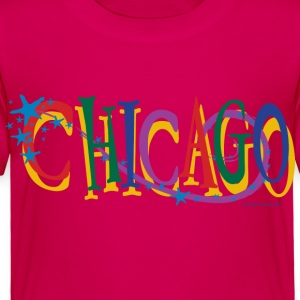 Chicago Stars and Stripe - Toddler Premium T-Shirt